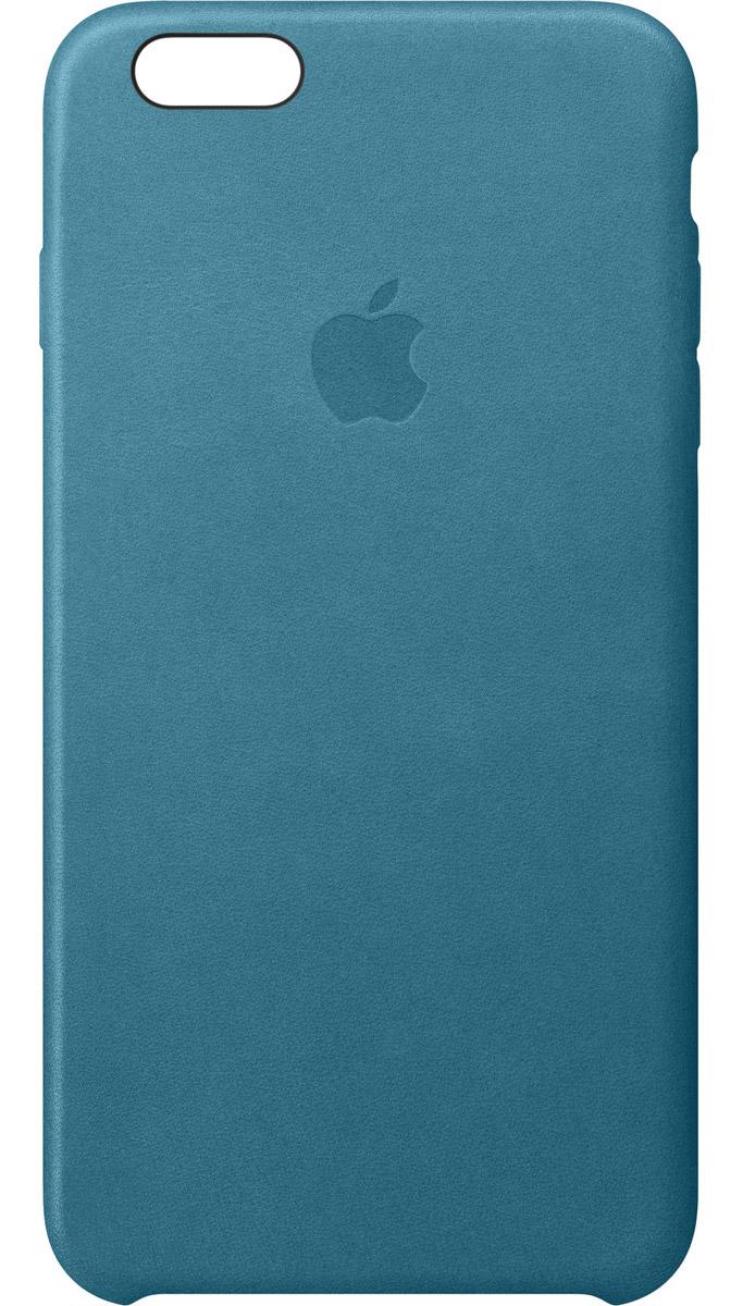 Apple Leather Case чехол для iPhone 6s Plus, Marine BlueMM362ZM/AApple Leather Case - роскошный чехол, изготовленный из специально обработанной и выделанной кожи европейского производства и спроектированный теми же дизайнерами Apple, которые работали над iPhone. Каждый чехол идеально облегает телефон, поэтому ваш iPhone 6s Plus или iPhone 6 Plus по-прежнему будет выглядеть невероятно тонким. Мягкая внутренняя поверхность чехла, выполненная из микроволокна, защитит корпус вашего iPhone. А его внешняя сторона порадует вас глубоким оттенком: специальная технология окраски позволяет цвету буквально проникать в структуру кожи.