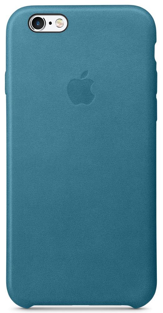 Apple Leather Case чехол для iPhone 6/6s, Marine BlueMM4G2ZM/AРоскошные чехлы из специально обработанной и выделанной кожи европейского производства продуманы теми же дизайнерами Apple, которые работали над iPhone. Каждый чехол идеально облегает телефон, поэтому ваш iPhone 6s или iPhone 6 по-прежнему будет выглядеть невероятно тонким. Мягкая внутренняя поверхность чехла, выполненная из микроволокна, защитит корпус вашего смартфона. А внешняя сторона порадует вас насыщенным оттенком: благодаря специальной технологии краситель проникает глубоко в структуру кожи.