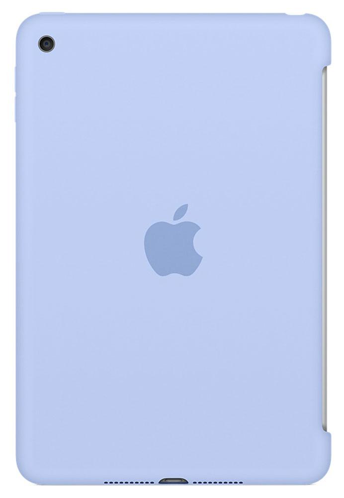Apple Silicone Case чехол для iPad mini 4, LilacMMM42ZM/AСиликоновый чехол защищает заднюю поверхность iPad mini 4 и идеально совместим со Smart Cover, чтобы ваше устройство было в безопасности с обеих сторон. Чехол с гладкой силиконовой поверхностью очень приятен на ощупь и надёжно оберегает iPad mini 4, сохраняя его корпус таким же тонким и изящным.