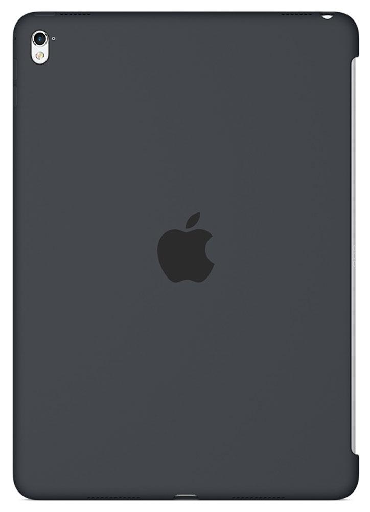 Apple Silicone Case чехол для iPad Pro 9.7, Charcoal GreyMM1Y2ZM/AСиликоновый чехол от Apple закрывает заднюю поверхность вашего iPad Pro и плотно прилегает к кнопкам, не делая его толще. Мягкая внутренняя поверхность из микроволокна защищает устройство, а гладкий силикон очень приятен на ощупь. Чехол идеально совместим с новой клавиатурой Smart Keyboard и обложкой Smart Cover. Ваш iPad Pro защищён со всех сторон.