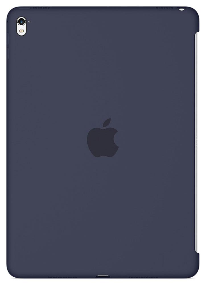 Apple Silicone Case чехол для iPad Pro 9.7, Midnight BlueMM212ZM/AСиликоновый чехол от Apple закрывает заднюю поверхность вашего iPad Pro и плотно прилегает к кнопкам, не делая его толще. Мягкая внутренняя поверхность из микроволокна защищает устройство, а гладкий силикон очень приятен на ощупь. Чехол идеально совместим с новой клавиатурой Smart Keyboard и обложкой Smart Cover. Ваш iPad Pro защищён со всех сторон.