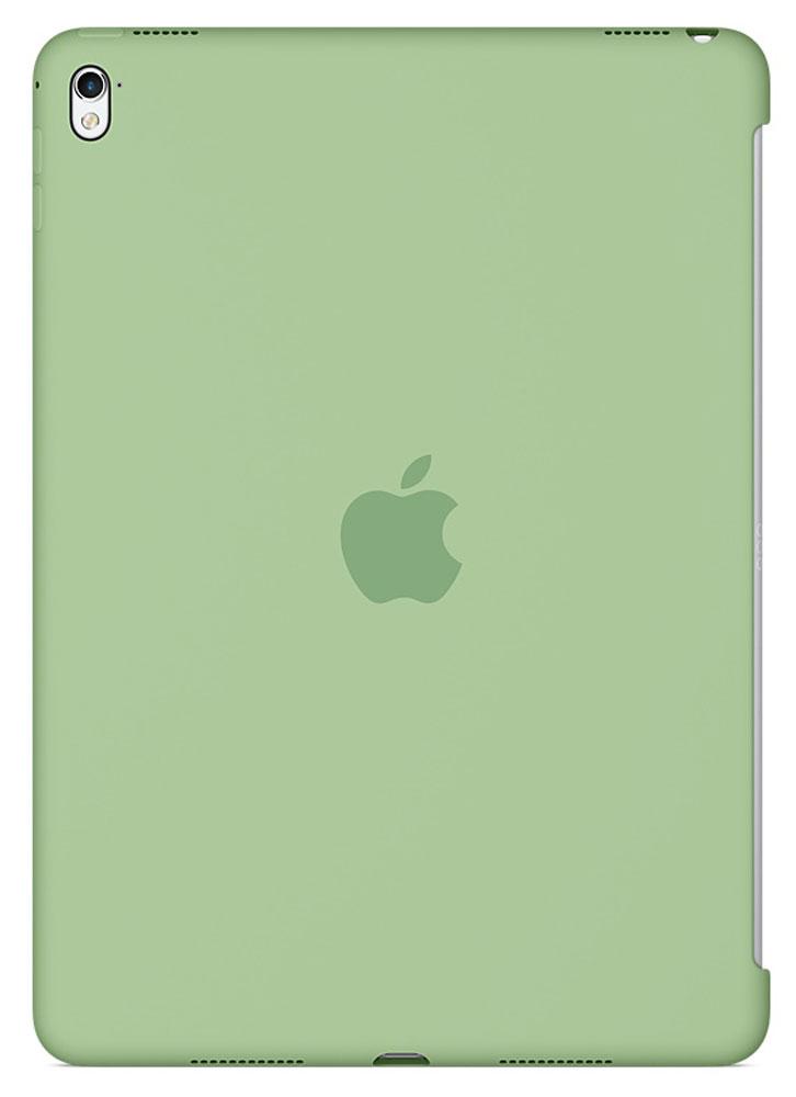 Apple Silicone Case чехол для iPad Pro 9.7, MintMMG42ZM/AСиликоновый чехол от Apple закрывает заднюю поверхность вашего iPad Pro и плотно прилегает к кнопкам, не делая его толще. Мягкая внутренняя поверхность из микроволокна защищает устройство, а гладкий силикон очень приятен на ощупь. Чехол идеально совместим с новой клавиатурой Smart Keyboard и обложкой Smart Cover. Ваш iPad Pro защищён со всех сторон.