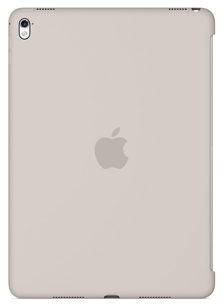 Apple Silicone Case чехол для iPad Pro 9.7, StoneMM232ZM/AСиликоновый чехол от Apple закрывает заднюю поверхность вашего iPad Pro и плотно прилегает к кнопкам, не делая его толще. Мягкая внутренняя поверхность из микроволокна защищает устройство, а гладкий силикон очень приятен на ощупь. Чехол идеально совместим с новой клавиатурой Smart Keyboard и обложкой Smart Cover. Ваш iPad Pro защищён со всех сторон.