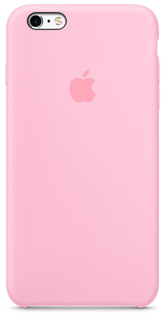 Apple Silicone Case чехол для iPhone 6 Plus/6s Plus, Light PinkMM6D2ZM/AApple Silicone Case создали те же дизайнеры Apple, которые тщательно продумывали каждую деталь iPhone. Силиконовые чехлы плотно прилегают к кнопкам управления громкостью и режима сна. Они точно повторяют контуры iPhone 6s Plus и iPhone 6 Plus, поэтому телефон остаётся тонким. Мягкая внутренняя поверхность чехла, выполненная из микроволокна, защитит корпус вашего iPhone. А внешняя силиконовая поверхность очень приятна на ощупь.