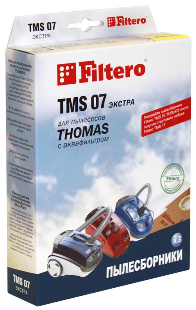 Filtero TMS 07 Экстра мешок-пылесборник для Thomas, 3 штTMS 07 ЭкстраПылесборники Filtero TMS 07 Экстра произведены из синтетического микроволокна MicroFib. Очень прочные, они не боятся острых предметов, собирают больше пыли (до 50%) и обеспечивают уровень очистки воздуха 99,9%, что значительно выше, чем у бумажных пылесборников. При этом мощность всасывания пылесоса сохраняется в течение всего периода службы пылесборника. Сменные мешки-пылесборники Filtero TMS 07 можно использовать только совместно с держателем Filtero из стартового набора. Пылесборники Filtero TMS 07 Экстра подходят для следующих моделей пылесосов: Thomas: Black Ocean Hygiene Plus T2 Hygiene T2 Pet & Friend Twin Helper Twin T1 Aquafilter Twin T2 Aquafilter Twin TT Aquafilter Twin TT Parq Twin T2 Parquet Twin Panther Twin Aquafilter Twin Aquatherm Twin Electronic Twin Tiger Genius S1 Aquafilter Genius S2 Aquafilter Genius Aquafilter Rotho Smarty ...