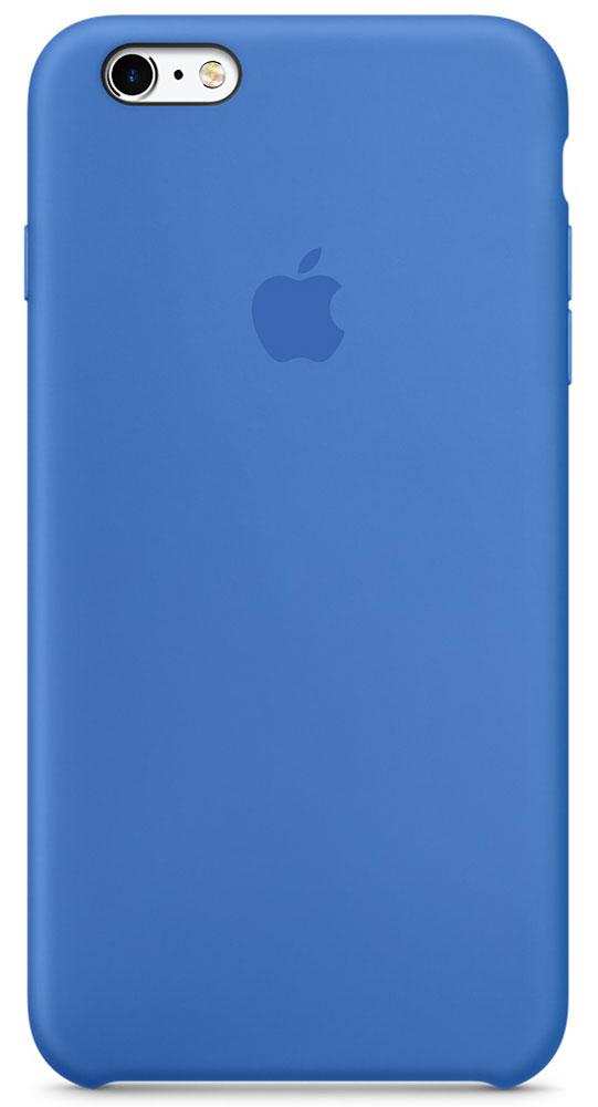 Apple Silicone Case чехол для iPhone 6 Plus/6s Plus, Royal BlueMM6E2ZM/AApple Silicone Case создали те же дизайнеры Apple, которые тщательно продумывали каждую деталь iPhone. Силиконовые чехлы плотно прилегают к кнопкам управления громкостью и режима сна. Они точно повторяют контуры iPhone 6s Plus и iPhone 6 Plus, поэтому телефон остаётся тонким. Мягкая внутренняя поверхность чехла, выполненная из микроволокна, защитит корпус вашего iPhone. А внешняя силиконовая поверхность очень приятна на ощупь.