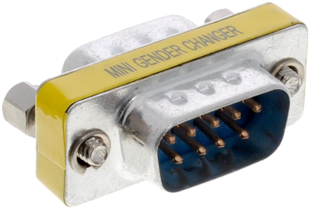 Greenconnect GC-CV204, Black Silver адаптер-переходник COMGC-CV204Адаптер Greenconnect GC-CV204 предназначен для подключения устройств с интерфейсом RS-232 (модемы и др.) Позволит соединить два разъема DB9 вместе.