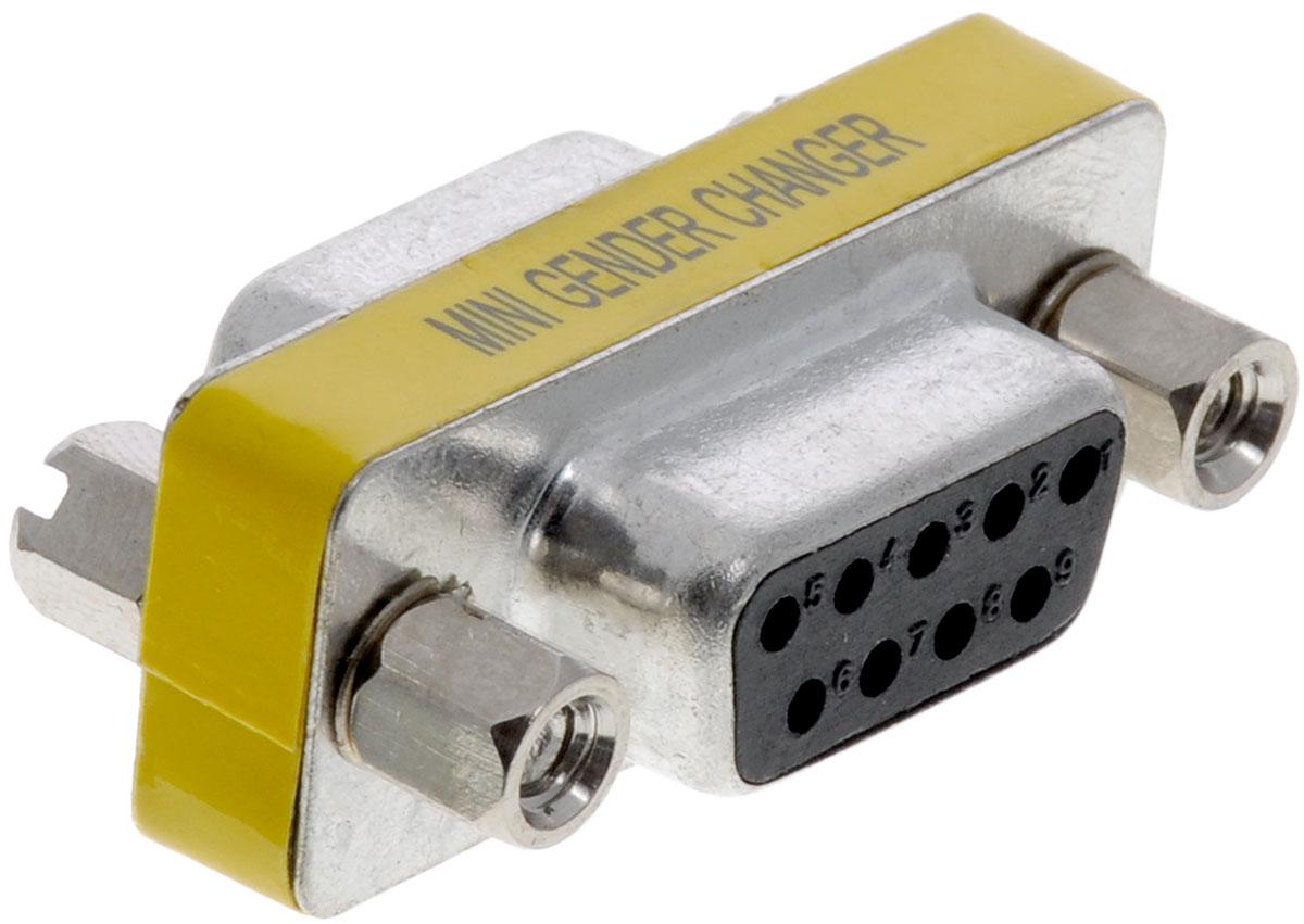 Greenconnect GC-CV203, Black Silver адаптер-переходник COMGC-CV203Адаптер Greenconnect GC-CV203 предназначен для подключения устройств с интерфейсом RS-232 (модемы и др.) Используйте его для подключения двух разъемов DB9 (штекер). Например, для удлинения кабеля.
