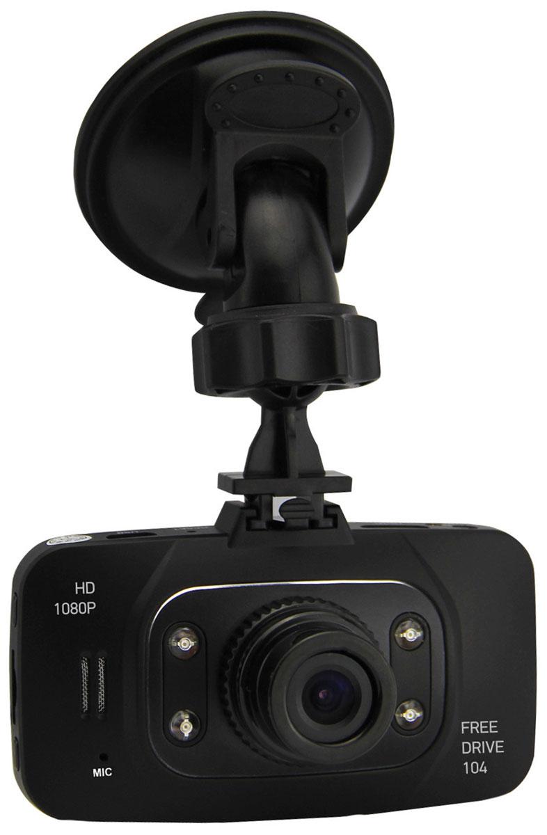 Digma FreeDrive 104, Black видеорегистратор
