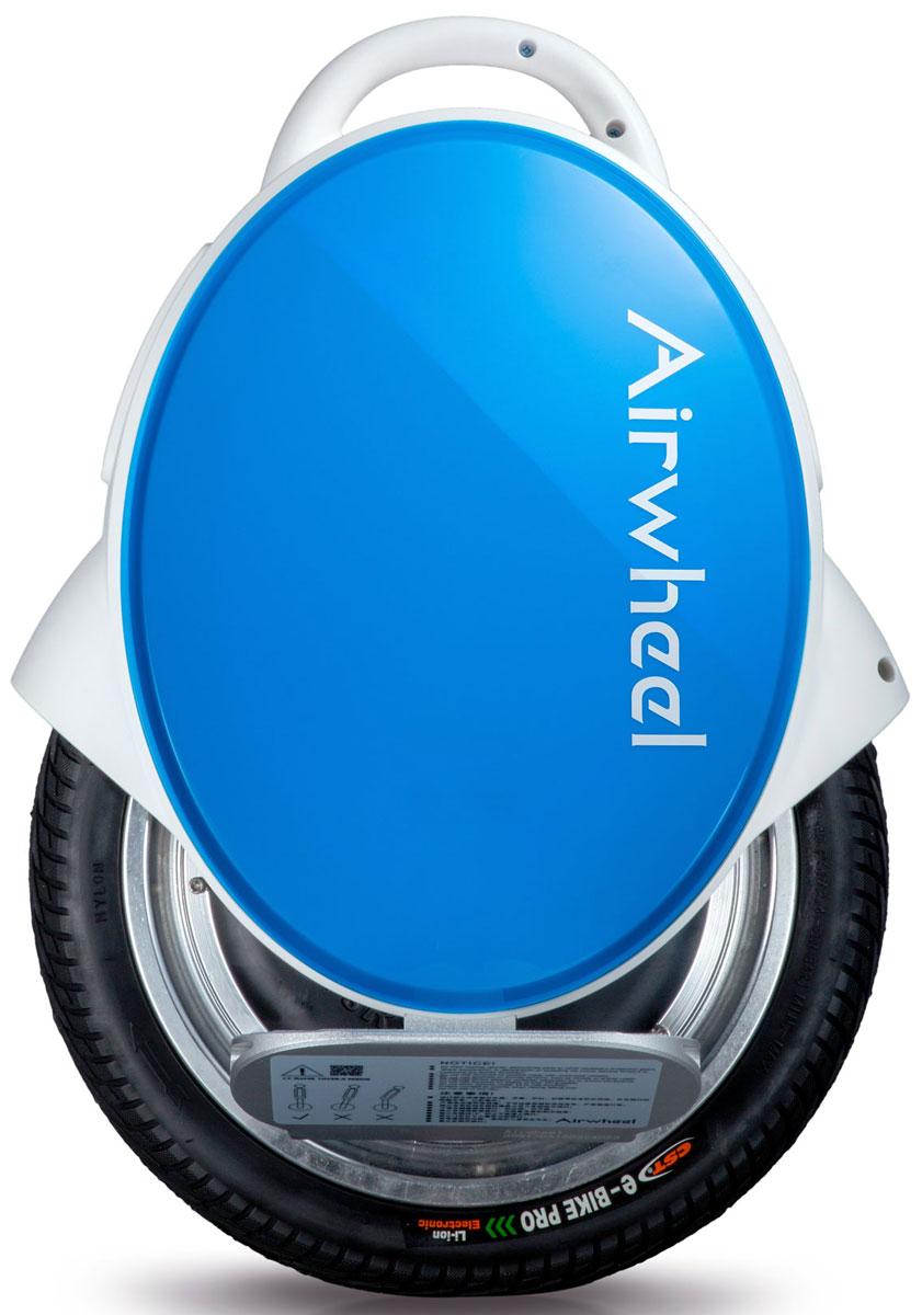 Airwheel Q5, White Blue двухколесный гироцикл (батарея Sony 260 Вт/ч)AIRWHEEL Q5-260WH-WHITE-BLUEКомпактное моноколесо со сдвоенной колесной конструкцией и диаметром 14 дюймов. Двойное колесо Защита от пыли и влаги Индикатор заряда Ручка для переноски 260WH Материал корпуса: Металл; Пластик