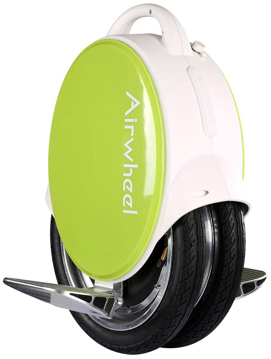 Airwheel Q5, White Green двухколесный гироцикл (батарея Panasonic 170 Вт/ч)
