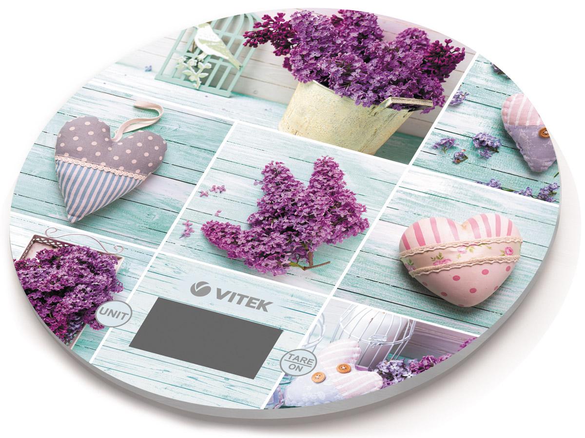 Vitek VT-2426(L) весы кухонныеVT-2426(L)Кухонные весы Vitek VT-2426(L) имеют прочную стеклянную платформу и четкий цифровой дисплей. Максимальная нагрузка составляет 5 кг. Устройство также обладает индикатором перегрузки и разряда батарей. Также имеются функции автоматического включения и выключения весов.