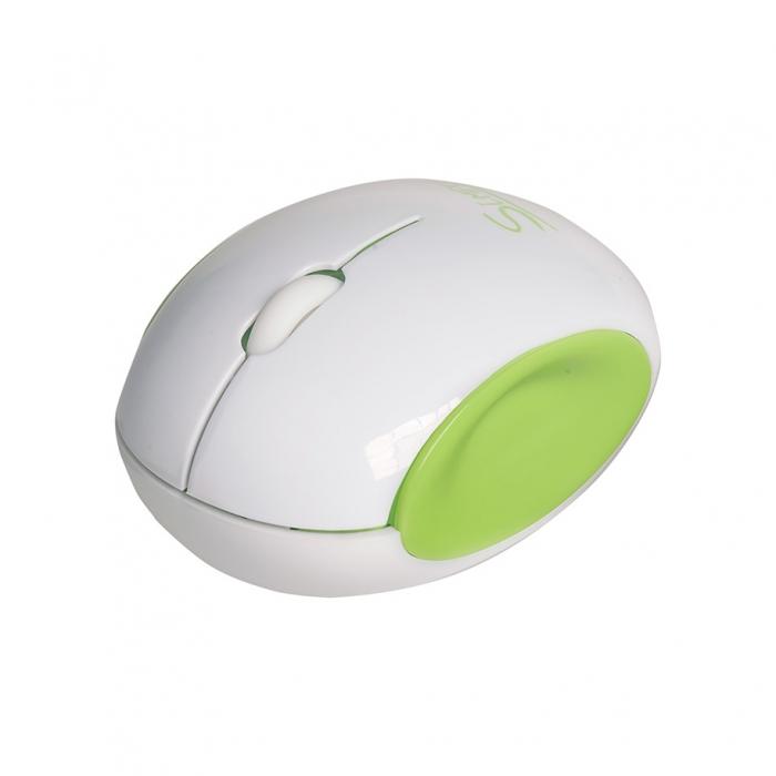 CBR Simple S14, Green мышьS14 GreenГлавным достоинством CBR Simple S14 является ее дизайн. Эргономичный корпус округлой формы легко ложится в руку, боковые вогнутые вставки созданы специально, чтобы пальцам было удобно. Мышь симметричная и потому подходит для правшей и левшей. CBR Simple S14 представлена в трех цветовых решениях: бело-голубом, бело-зеленом и бело-розовом. Эти сочетания выбраны не случайно, они отражают характер самой марки Simple - легкий и позитивный. Комбинированная упаковка из премиум-картона и прозрачного пластика не только демонстрирует все преимущества продукта, но и вполне заменит подарочную.