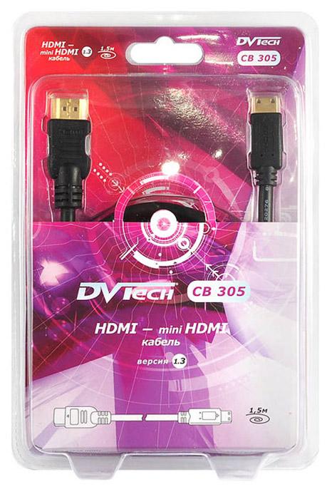 DVTech CB305 кабель HDMI-miniHDMI 1.5 м