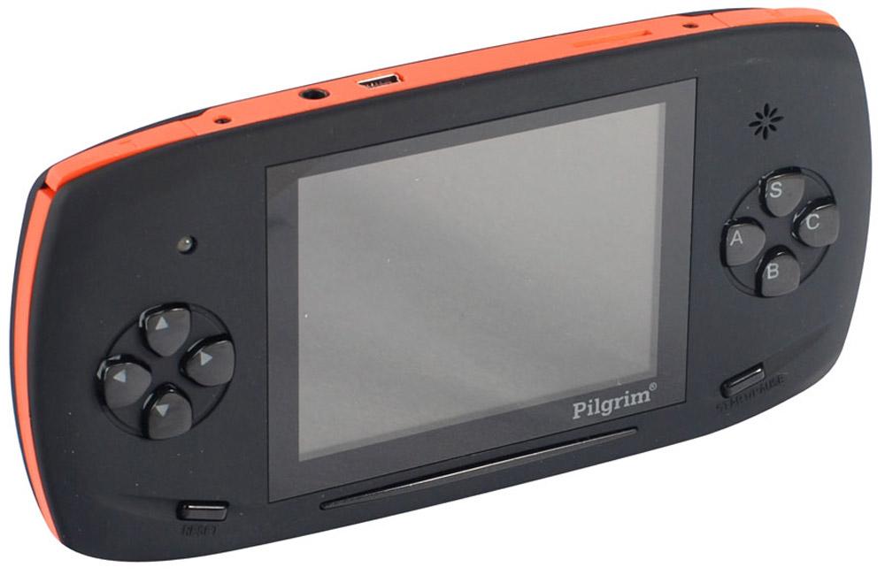 """Игровая приставка DVTech Pilgrim 2 4.3"""" LCD 350 игр, Black Orange ( 4601250109169 )"""