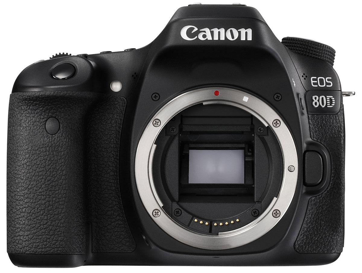 Canon EOS 80D Body цифровая зеркальная фотокамераEOS 80DCanon EOS 80D - мощная , универсальная и быстрая камера, которая позволит вам раскрыть свой творческий потенциал. Она отлично подходит для съемки спортивных событий, портретов, пейзажей, улиц, путешествий и съемки при слабом освещении, а также для качественной видеосъемки, благодаря инновационным технологиям, которые позволяют получать превосходные результаты в любой ситуации. Моментально реагируйте на изменения и с легкостью снимайте спортивные соревнования или дикую природу благодаря высокопроизводительной системе автофокусировки, максимальной скорости серийной съемки 7 кадров/с и настраиваемым элементам управления. Не упустите ни одного мимолетного движения спортивной игры и создавайте четкие фотографии даже при заливающем свете благодаря быстрореагирующей и точной системе автофокусировки, которая работает в сложных условиях освещения до -3 EV. 45-точечная система автофокусировки крестового типа позволяет выбрать точку или область фокусировки...
