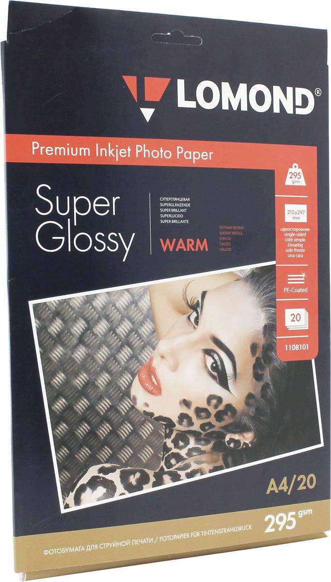 Lomond Super Glossy Warm 295/10x15/20л суперглянцевая тепло-белая1108103Суперглянцевая микропористая фотобумага Lomond для струйной печати. Микропористое покрытие обеспечивает столь же высокое качество печати, как и традиционная фотография. Себестоимость отпечатков на бумаге Lomond Premium Photo c использованием картриджей Lomond - ниже, чем стоимость отпечатков, получаемых по традиционной технологии с использованием химических реактивов. Благодаря полиэстеровому покрытию бумажной основы бумага Lomond Premium Photo совершенно не подвержена короблению после прохода через принтер даже при самой интенсивной заливке чернилами. Модификация Super Glossy по фактуре поверхности наиболее близка к традиционной химической фотобумаге. Отпечатки отличаются высоким глянцем.