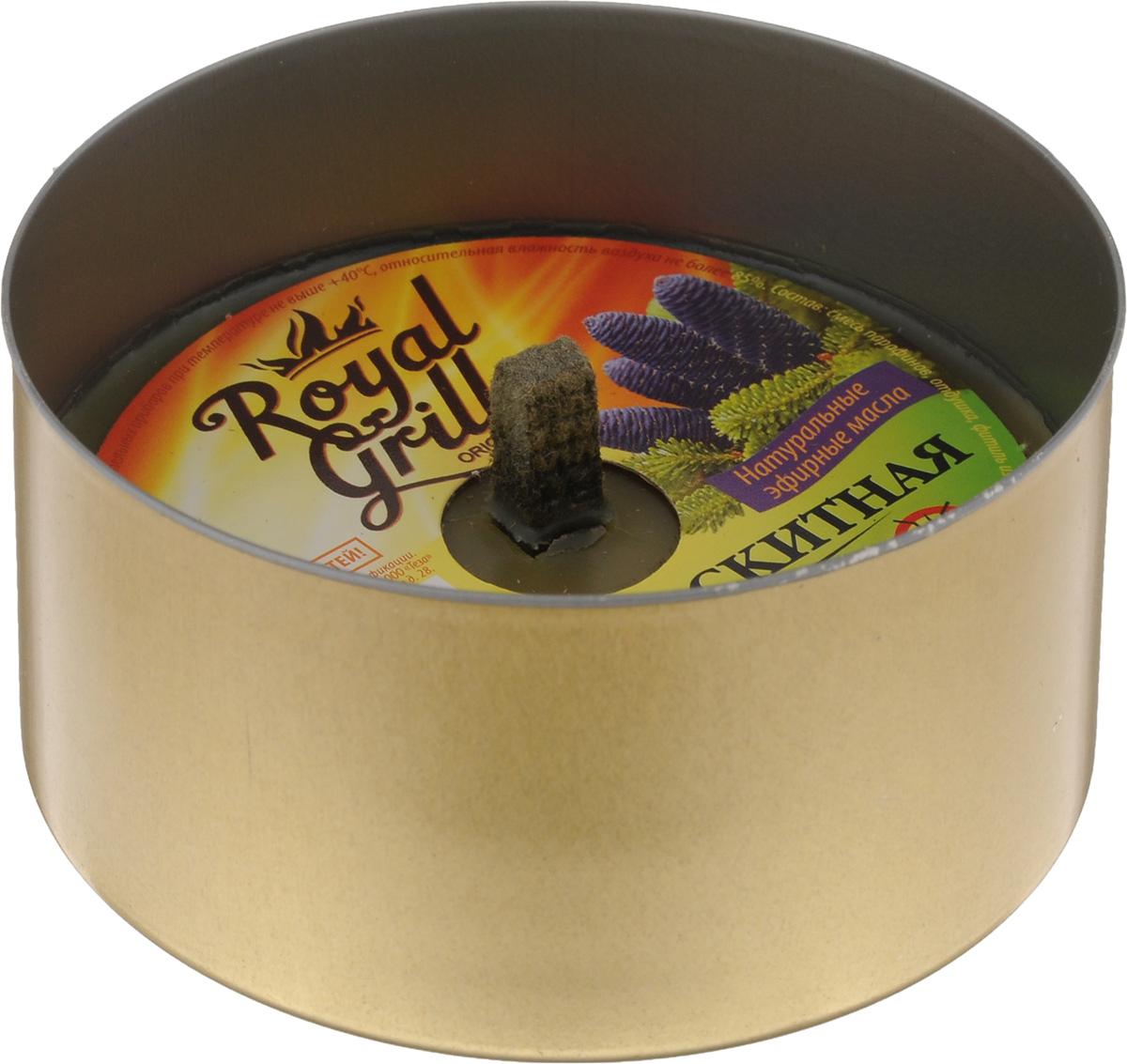 Свеча уличного освещения RoyalGrill Пихта, аромомоскитная80-141Свеча RoyalGrill Пихта используются для освещения и придания уютной обстановки на даче, на открытом воздухе, в походе, на пикниках, для освещения дорожек на участках или около палаток, в беседках или при отсутствии света. Любое применение в виде освещения на открытом воздухе. Обладает эффектом для отпугивания комаров и мошек.