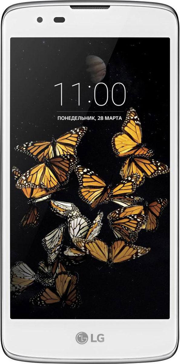 LG K8 K350E, White