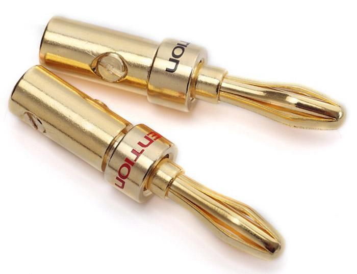 Vention Banana акустический коннектор, 2 штVDD-C02Коннектор Vention Banana предназначен для коммутации акустического кабеля к профессиональной аппаратуре. Монтаж производится путем насаживания коннектора на жилу кабеля. Плотность зажима кабеля в коннекторе регулируется, зажимным винтом. Продукция соответствует следующим сертификатам: RoHS, CE, FCC, TIA, ISO Тип разъема: Banana Контакты: 24K позолоченные, коррозийно-стойкие Диаметр разъема под кабель: 4 мм Рабочая температура: -40...+60°C Выдерживает напряжение: 1000V rms