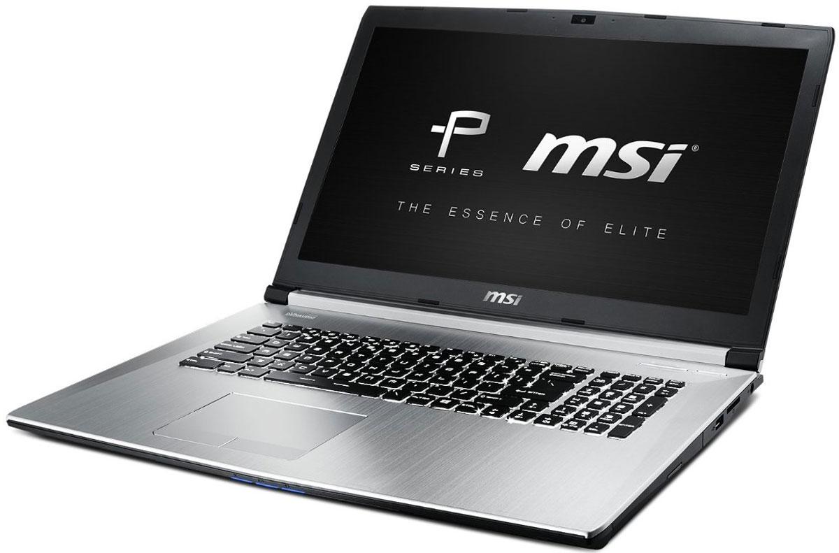 MSI PE70 6QD-246RU, SilverPE70 6QD-246RUMSI PE70 6QD - стильный и мощный ноутбук премиум класса. Современный процессор 6-го поколения Intel Core i5: Skylake - это кодовое имя новой 14-нм микроархитектуры процессоров Intel последнего, 6-го поколения. По сравнению с предыдущими поколениями платформа Skylake обладает сниженным энергопотреблением при повышенной производительности. Графический процессор NVIDIA GeForce GTX 950M открывает путь к высокой производительности ноутбуков. Являясь первым графическим решением, достигнувшим 4900 (950M) единиц в тесте 3DMark 11, GeForce GTX 950M дарит своим пользователям выдающуюся производительность и высочайшую эффективность в лёгком портативном исполнении. Это идеальное решение для высокохудожественных дизайнерских работ и реалистичных мультимедийных развлечений. Дизайн новой серии MSI Prestige, навеянный духом модных тенденций IT-рынка, воплощение которого требует использования высокоточных инструментов, одновременно прост и утончён...