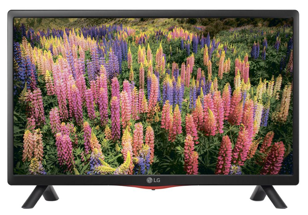 LG 22LF450U телевизор22LF450UHD разрешение телевизора дает возможность насладиться четким и ярким изображением при просмотре любого контента. Встроенные стерео динамики максимально реалистично передают насыщенное объемное звучание самых тонких звуковых оттенков в ТВ программах, фильмах и играх. Со встроенным медиа-плеером можно просматривать разнообразный HD контент напрямую с USB носителя или внешнего жесткого диска. По сравнению с обычными ЖК панелями, LED подсветка обеспечивает более живое, насыщенное изображение и высокую динамическую контрастность.