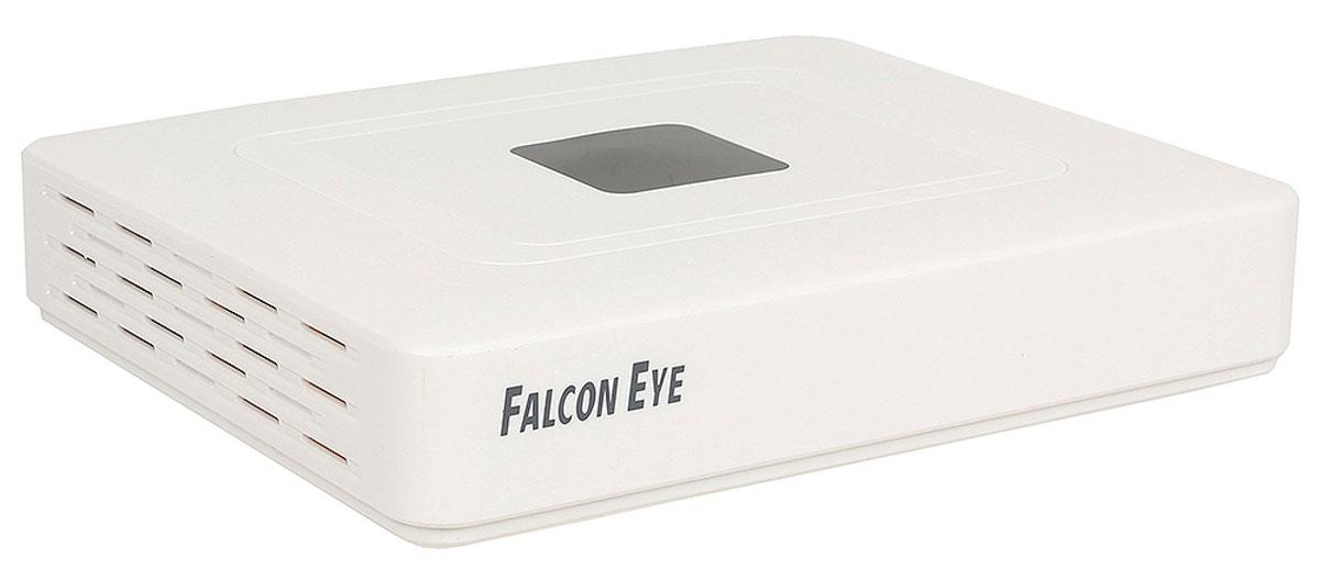 Falcon Eye FE-1104AHD AHD видеорегистраторFE-1104AHDЧетырехканальный цифровой видеорегистратор Falcon Eye FE-1104AHD отличают малые размеры, возможность записи видеосигнала с разрешением 720P. Запись можно вести на жесткий диск объемом до 3ТБ. Для удаленного просмотра на смартфонах регистратор использует функционал P2P, с помощью которого выполнить подключение и настройки очень легко даже не профессионалам. Регистратор оснащен 4 BNC разъемами для подключения видеокамер, 4 аудиовходами, HDMI разъемом для подключения современного монитора и портами USB для подключения 3G модема и компьютерной мыши.