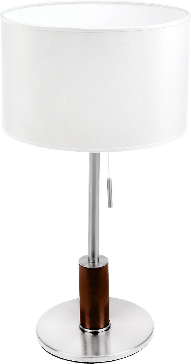 Настольная лампа Lussole Silvi LSC-7114-01, цвет: белыйLSC-7114-01Интерьерная настольная лампа Lussole Silvi LSC-7114-01 от итальянского производителя светильников Lussole прекрасно подойдет для освещения таких мест, как например, гостиная, спальня или кафе. Стиль исполнения светильника - модерн. Корпус светильника выполнен из дерева (бук) и металла, абажур изготовлен из ткани белого цвета. Площадь возможной освещаемой территории светильником составляет 3 кв. м. Светильник Silvi LSC-7114-01 имеет одну лампу с цоколем E27 (лампочка в комплект поставки не входит).