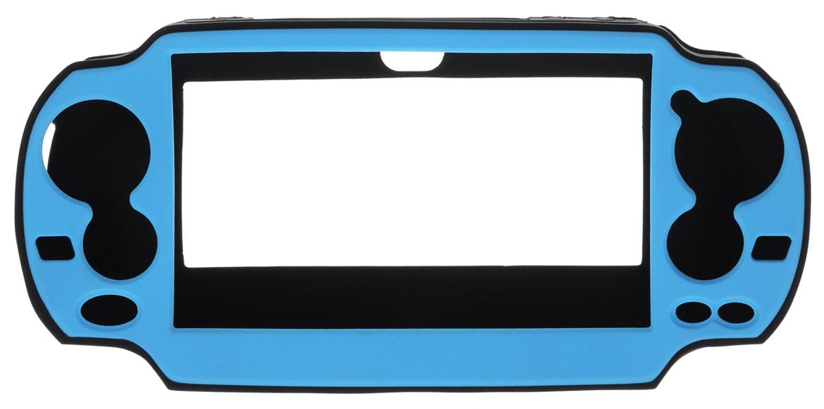 DVTech AC 535 защитный набор PS Vita4601250885353Эластичный прочный силиконовый чехол DVTech AC 535 – необходимый и практичный аксессуар для PS Vita. Плотно облегает корпус, оставляя открытым доступ ко всем элементам управления, камерам, слотам для карт и разъемам. Рифлёные элементы на задней поверхности чехла препятствуют скольжению и позволяют надежно фиксировать консоль в руках.