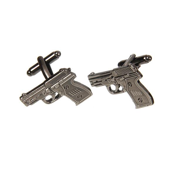 Запонки мужские Mitya Veselkov Пистолеты. ZAP-106