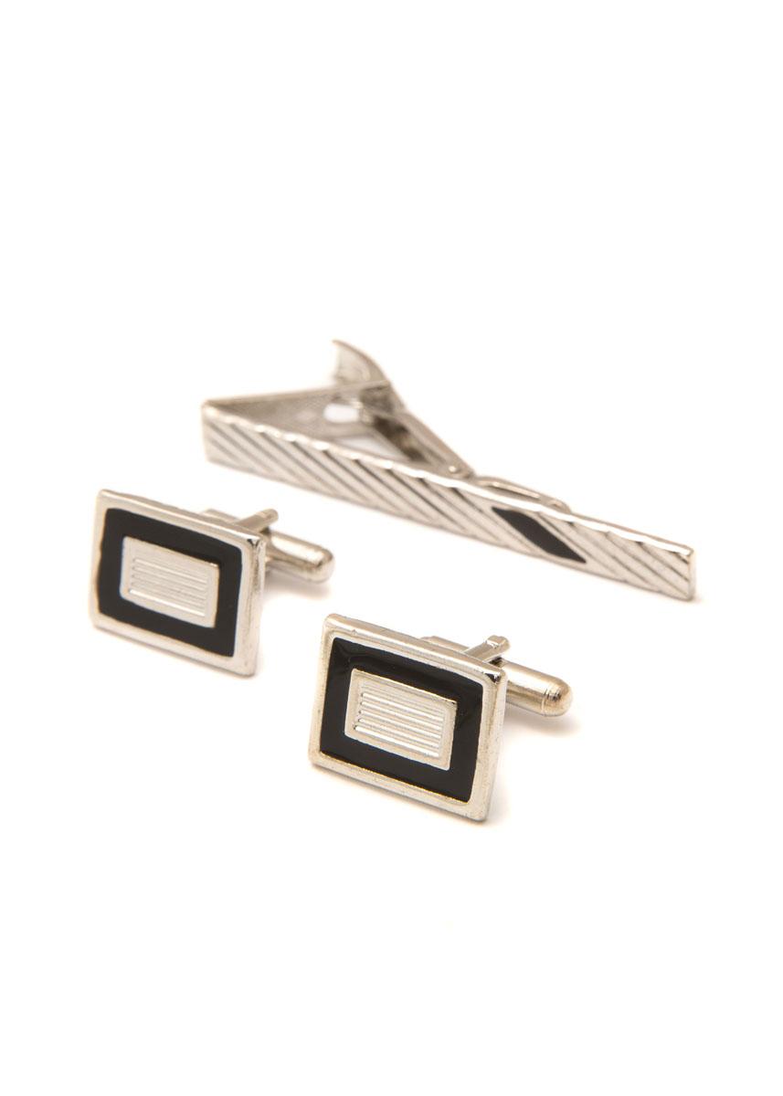 Комплект мужской: зажим для галстука и запонки Mitya Veselkov. ZAPZDG-03 ( ZAPZDG-03 )