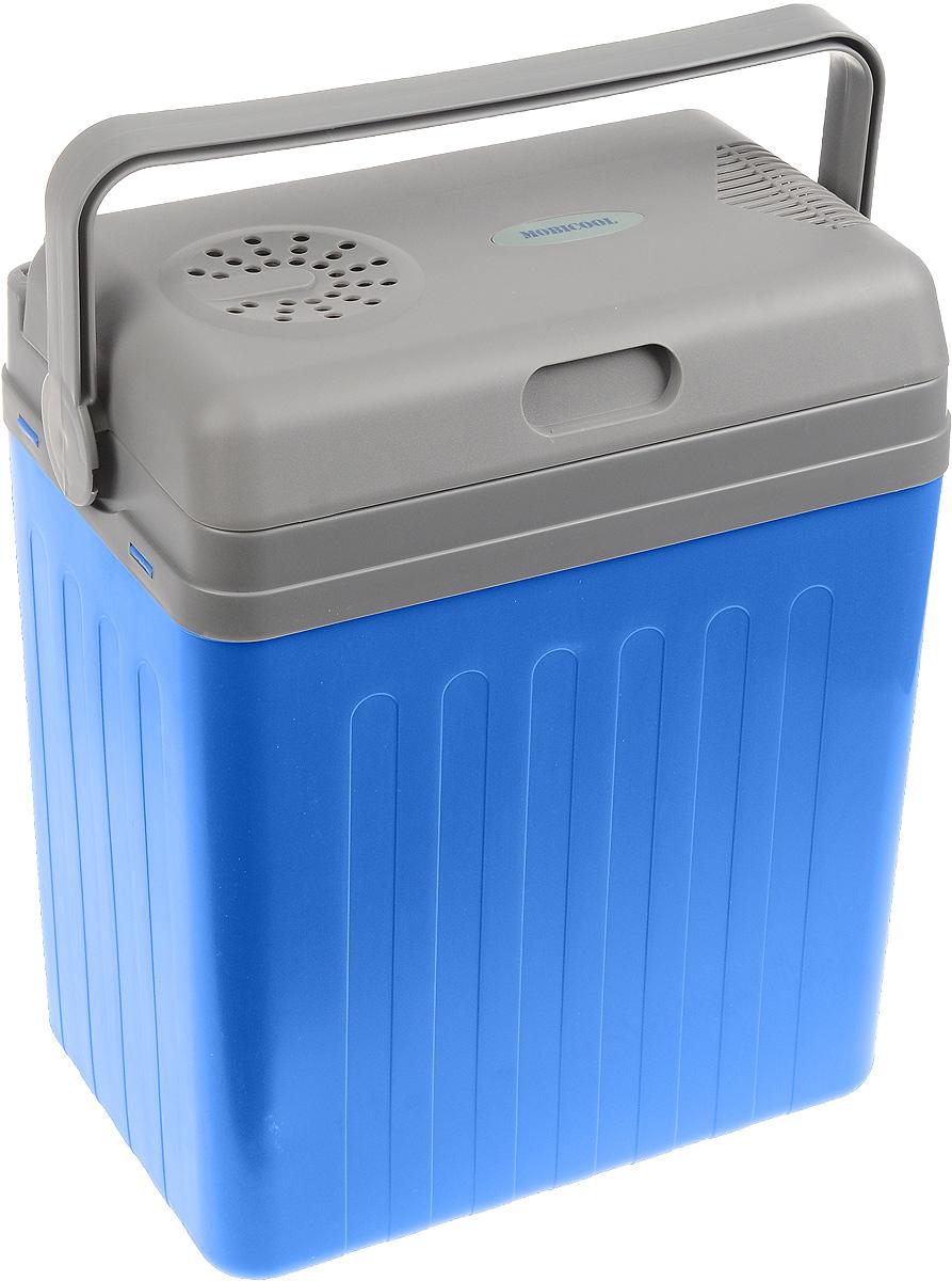 MOBICOOL U22 DC автохолодильникU22 DCАвтохолодильник MOBICOOL U22 DC предназначен для транспортировки и хранения напитков и продуктов питания при определенном температурном режиме. Особенно удобно его использовать в длительных поездках в жаркое время года. Контейнер - термоэлектрический. Он работает от прикуривателя 12 В. Минимальная температура охлаждения составляет до 15 градусов ниже температуры окружающей среды. Корпус холодильника выполнен из ударопрочного пластика. В качестве теплоизоляционного материала используется пенополиуретан. Мощность: 48 Вт Съемная крышка Встроенный в крышку кабель Ручка фиксирует крышку в закрытом положении Полная термоизоляция из пенополиуретана