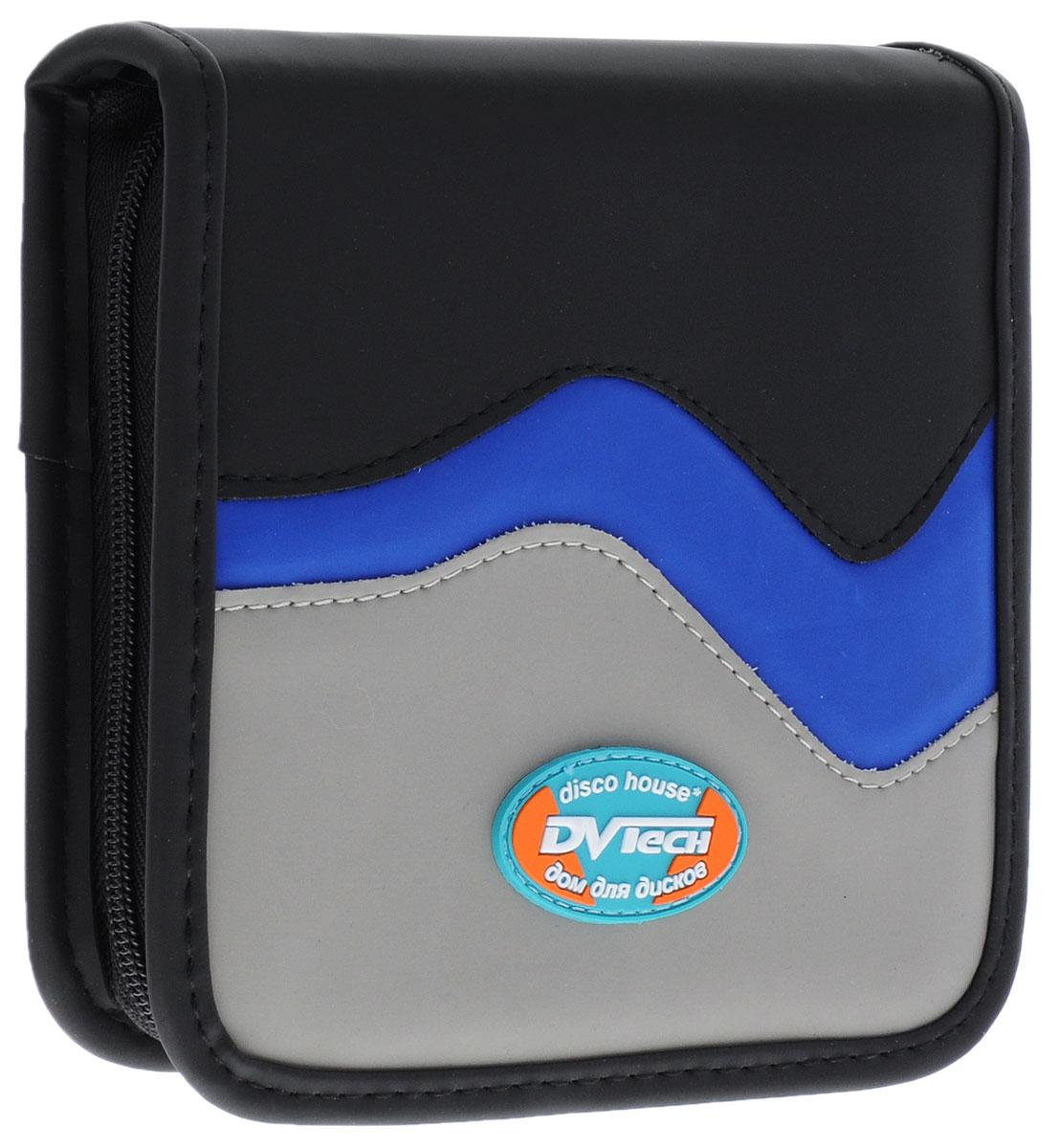 DVTech WQX-40 сумка для хранения дисков6904860991918Элегантная сумка от DVTech предназначена для хранения 40 компакт-дисков. Эта стильная сумка поможет вам в работе с компакт-дисками, ускорив навигацию и поиск в вашей библиотеке, также защитит диски от пыли и грязи, продлевая их срок жизни. Сумка включает в себя 20 двухсторонних конвертов. Твердый корпус обеспечит надежную защиту дисков. Застегивается на застежку-молнию. Для более удобного использования у сумки имеется ручка.