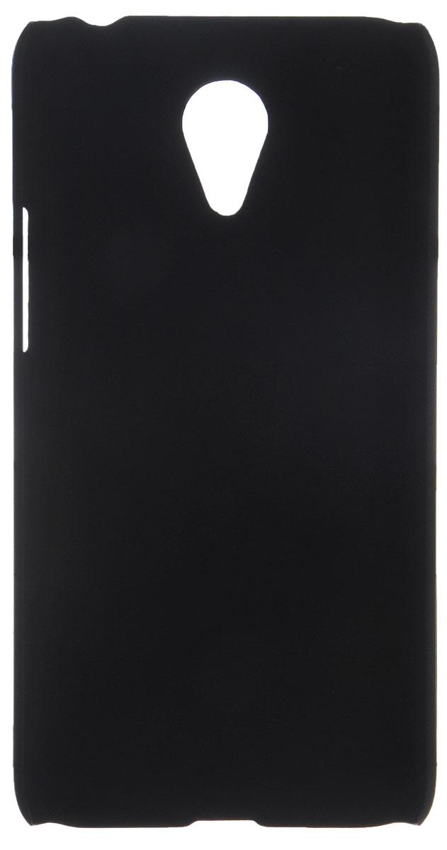 Skinbox 4People чехол для Meizu M1 Note, Black2000000076652Накладка Skinbox 4People для Meizu M1 Note выполнена из высококачественного поликарбоната. Она бережно и надежно защитит ваш смартфон от пыли, грязи, царапин и других повреждений. Чехол оставляет свободным доступ ко всем разъемам и кнопкам устройства.