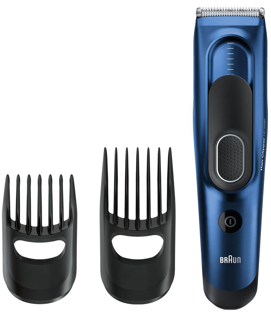 Braun HC 5030 машинка для стрижки волос81519167Машинка для стрижки волос Braun HC 5030 с 17 настройками длины позволяет создать любой образ и стрижку. Два регулируемых направляющих гребня позволяют создать прическу твоей мечты. Малый гребень охватывает длину от 3 до 24 мм, большой — от 14 до 35 мм. Разработана для работы в беспроводном или проводном режиме: Машинка для стрижки волос Braun работает от двойного аккумулятора. Два Ni-MH аккумулятора полностью заряжаются за 8 часов, гарантируя 40 минут беспроводной работы. Для обеспечения непрерывной работы просто подключи ее к питанию. Запоминает настройки нужной длины - для идеальных результатов в любое время: Умная функция Memory SafetyLock запоминает и записывает последние использованные настройки длины даже после удаления насадки. Надежный захват для точного управления: Прорезиненная зона захвата для комфортного и надежного использования. Сверхострые лезвия для точной стрижки: Лезвия машинок для...