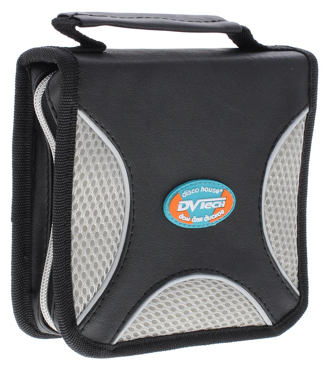 DVTech WFD-36 сумка для хранения дисков6904860991697DVTech WFD-36 - надежная сумка для хранения 36 дисков. Изделие изготовлено из качественного комбинированного материала (искусственная кожа и синтетика). Отлично подойдет для хранения вашей коллекции музыки, программ или фильмов на CD или DVD.