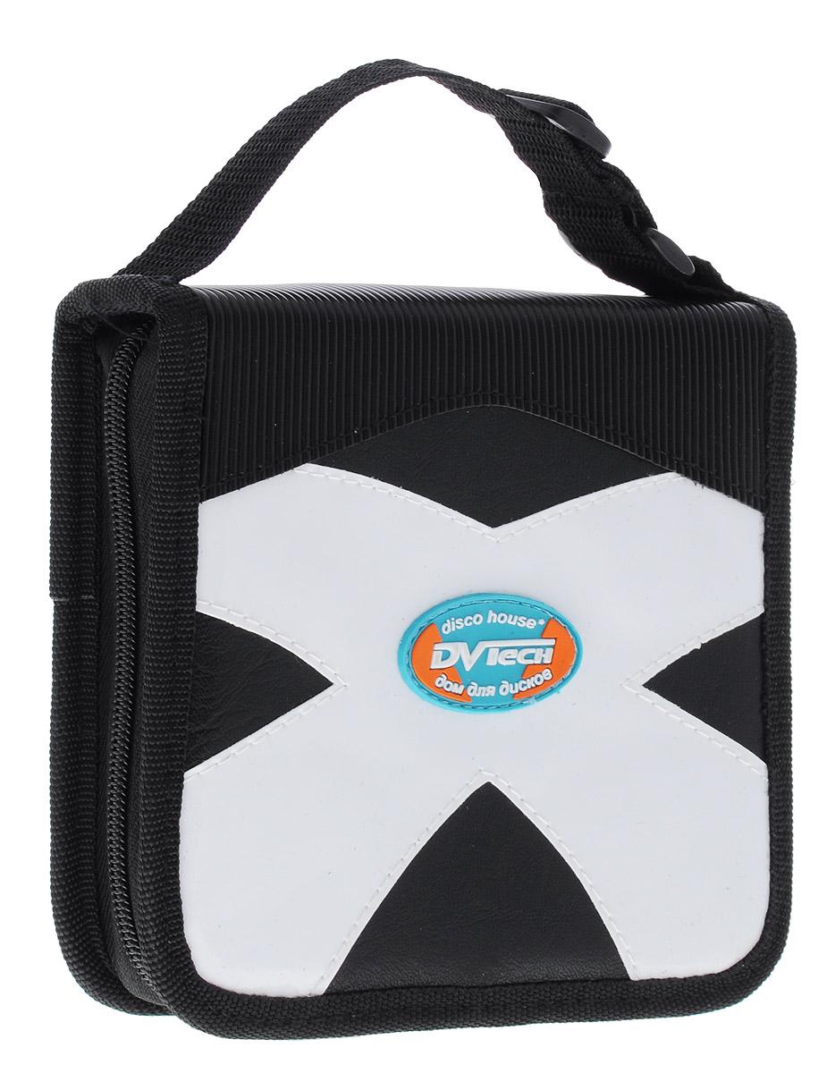 DVTech WJC-36 сумка для хранения дисков6904860991789DVTech WJC-36 - надежная сумка для хранения 36 дисков. Изделие изготовлено из качественного комбинированного материала (искусственная кожа и синтетика). Отлично подойдет для хранения вашей коллекции музыки, программ или фильмов на CD или DVD.