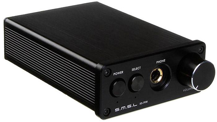 SMSL SD-793 II, Black усилитель для наушников6970141850175SMSL SD-793 II - это ЦАП со встроенным усилителем для наушников в строгом алюминиевом корпусе. Устройство имеет оптический, аналоговый и коаксиальный входы, с помощью которых возможно подключение усилителя к компьютеру, ЖК-телевизору, DVD-проигрывателю и другому оборудованию.