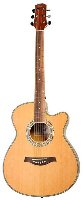 Flight F-230C NA акустическая гитараDNT-17135Flight F-230C NA - это инструмент со стандартной для акустических гитар мензурой 650 мм и уменьшенным корпусом. Гитара отлично подойдет как начинающим, так и в качестве второго инструмента для тех, кто уже умеет играть. Верхняя дека из ели придает инструменту яркое, звонкое, чёткое и ровное звучание. Нижняя дека и обечайка выполнены из агатиса, который обладает хорошими резонансными характеристиками. Подставка и накладка на гриф изготовлены из палисандра. Размер корпуса Flight F-230C NA немного меньше чем у гитар с корпусом типа дредноут или вестерн. Он ближе к размеру классической гитары, при этом на инструменте установлены металлические струны, которые дают так любимый всеми яркий звук. Вырез обеспечивает удобный доступ к верхним ладам. Два хромированных держателя позволят быстро и надежно закрепить ремень без использования дополнительного шнура. Двойное кольцо перламутрового цвета на розетке гармонично сочетается с...