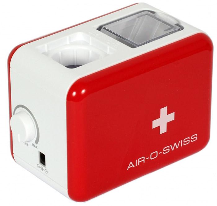 Boneco Air-O-Swiss U7146, Red White увлажнитель воздухаU7146 RedМобильный увлажнитель воздуха Air-O-Swiss U7146 можно брать с собой куда угодно: на отдых, в командировку, в офис – в любой поездке он будет сопровождать Вас, поддерживая оптимальный уровень влажности воздуха, где бы Вы ни находились. Маленький и яркий увлажнитель Air-O-Swiss U7146 в кратчайшие сроки создаст благоприятный микроклимат в гостиничном номере или апартаментах, насыщая воздух живительной влагой. Такой легкий и компактный, он не займет много места и не потребует особого ухода. Прибор работает по принципу ультразвукового увлажнения воздуха. Вода, попадая в камеру парообразования, под воздействием ультразвука расщепляется на мельчайшие брызги. Микроскопические капли образуют своеобразное облако пара, вентилятор малой мощности прогоняет наружный воздух, подавая пар в помещение, который затем равномерно по нему распространяется. Уникальность модели AOS U7146 - в том, что в качестве емкости для воды выступает стандартная пластиковая бутылка...