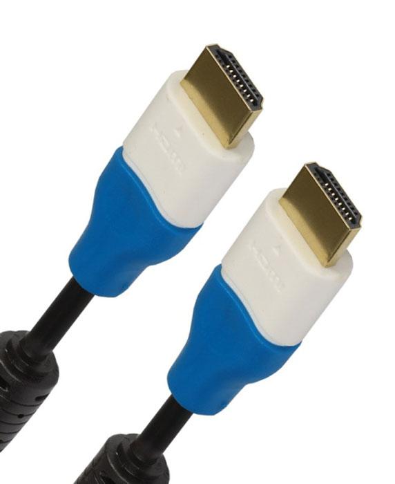 SmartBuy К322-30 HDMI кабель (2 м)К322-30Кабель SmartBuy К322-30 служит для передачи сигнала высокой четкости между компонентами домашнего кинотеатра. Совместим со всеми цифровыми устройствами, имеющими разъем HDMI.