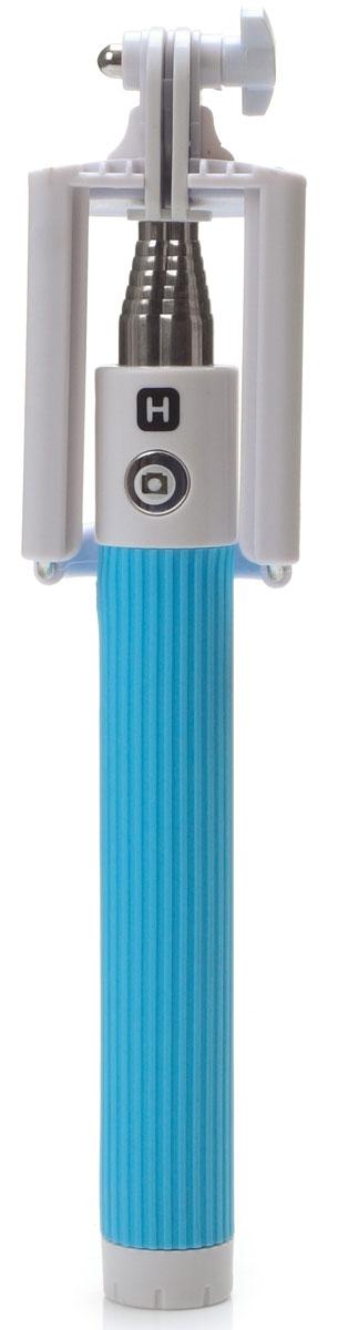 Harper RSB-105, Blue моноподH00000533Harper RSB-105 - телескопический монопод для проведения фото и видеосъемки с максимальной нагрузкой 500 грамм. Поддержка беспроводного соединения Bluetooth позволяет осуществлять съемку без использования кабеля. Данная модель имеет встроенный аккумулятор на 60 мАч, что обеспечивает до 100 часов автономной работы.