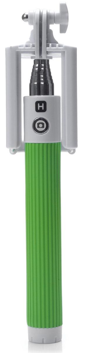 Harper RSB-105, Green моноподH00000530Harper RSB-105 - телескопический монопод для проведения фото и видеосъемки с максимальной нагрузкой 500 грамм. Поддержка беспроводного соединения Bluetooth позволяет осуществлять съемку без использования кабеля. Данная модель имеет встроенный аккумулятор на 60 мАч, что обеспечивает до 100 часов автономной работы.