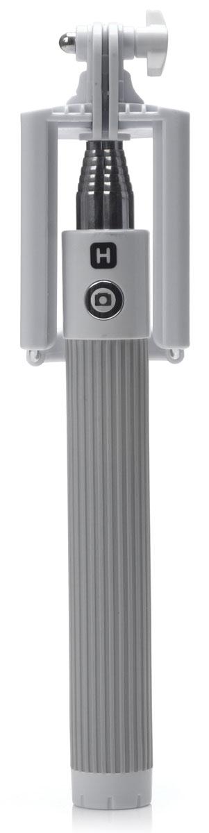 Harper RSB-105, Grey моноподH00000531Harper RSB-105 - телескопический монопод для проведения фото и видеосъемки с максимальной нагрузкой 500 грамм. Поддержка беспроводного соединения Bluetooth позволяет осуществлять съемку без использования кабеля. Данная модель имеет встроенный аккумулятор на 60 мАч, что обеспечивает до 100 часов автономной работы.