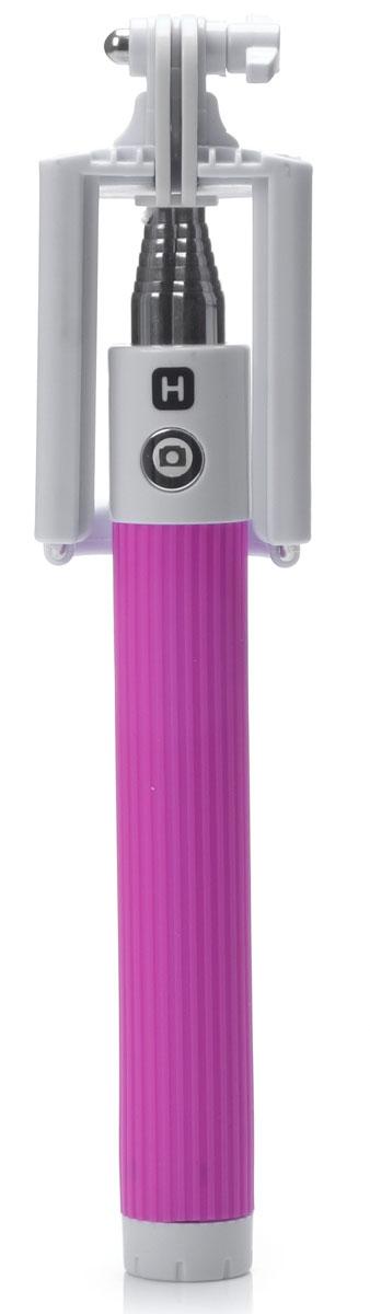 Harper RSB-105, Pink моноподH00000529Harper RSB-105 - телескопический монопод для проведения фото и видеосъемки с максимальной нагрузкой 500 грамм. Поддержка беспроводного соединения Bluetooth позволяет осуществлять съемку без использования кабеля. Данная модель имеет встроенный аккумулятор на 60 мАч, что обеспечивает до 100 часов автономной работы.