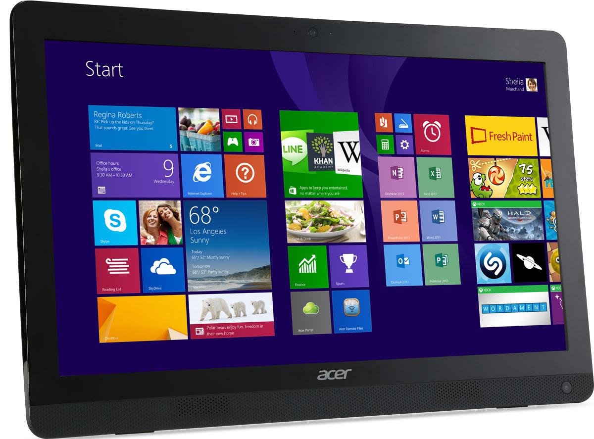Acer Aspire ZC-606 (DQ.SUTER.002), Black моноблок ( DQ.SUTER.002 )