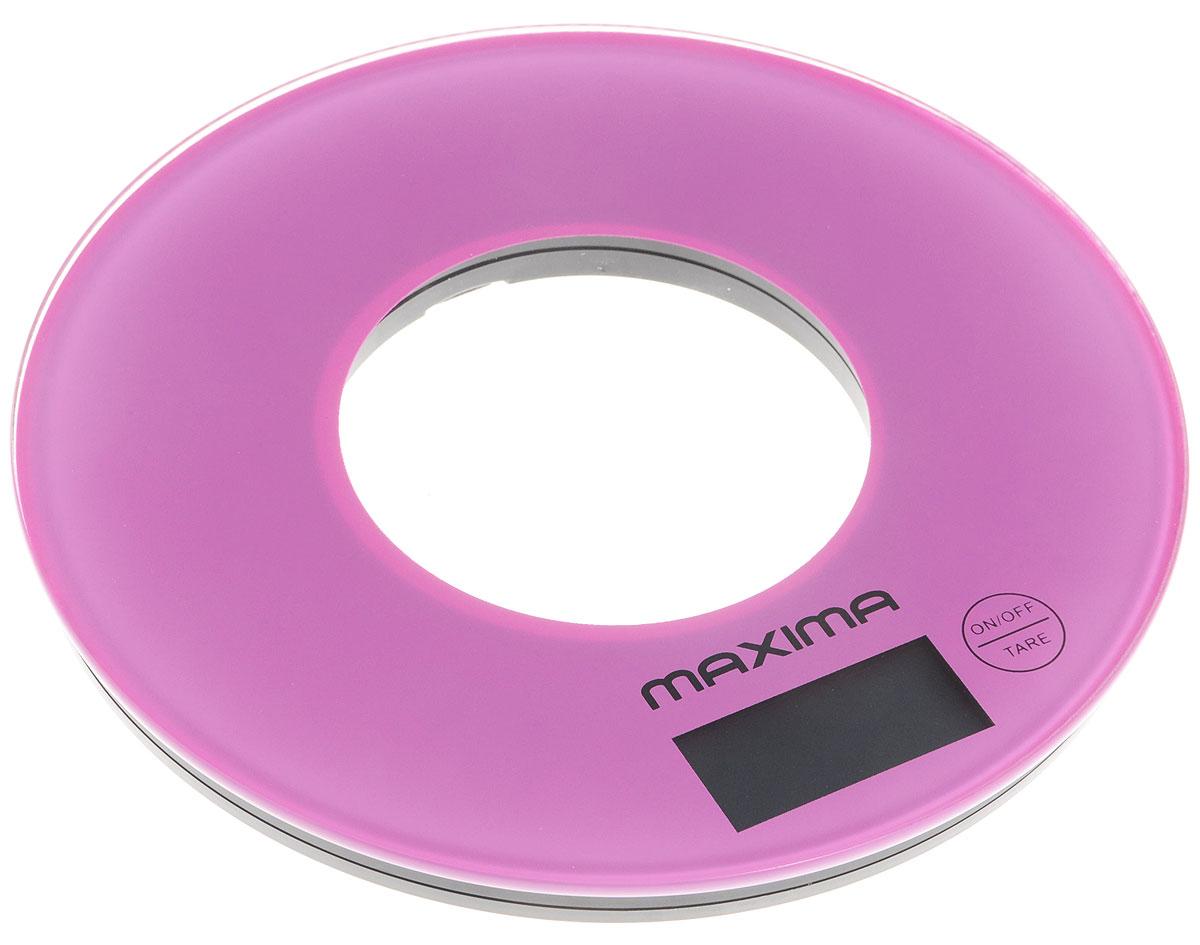 Maxima МS-067, Purple весы кухонныеМS-067Кухонные весы Maxima МS-067 - это отличный помощник на вашей кухне. Функция компенсации тары позволит взвешивать не учитывая массу тары, а высокая точность даст возможность точно следовать вашим любимым рецептам.