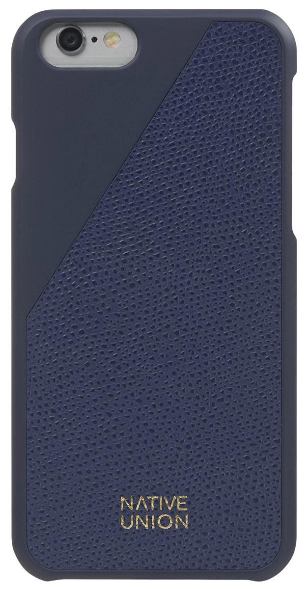 Native Union CLIC Leather чехол из телячьей кожи для iPhone 6/6s, BlueCLIC-MAR-LE-H-6SЭлегантный чехол из натуральной телячьей кожи. Фабрика по выделки кожи находится во Франции, мастера имеют богатый опыт, который передается от поколения к поколению. Используется ручной труд с целью достижения высочайшего качества. Чехол легкий, стильный, с богатой цветовой палитрой. Это не просто защита вашего iPhone, это атрибут роскоши, где все складывается из мелочей.