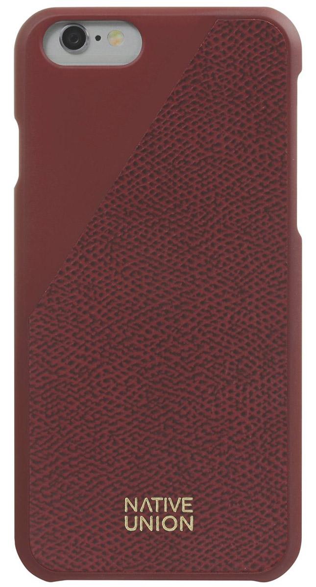 Native Union CLIC Leather чехол из телячьей кожи для iPhone 6/6s, BordeauxCLIC-BOR-LE-H-6SЭлегантный чехол из натуральной телячьей кожи. Фабрика по выделки кожи находится во Франции, мастера имеют богатый опыт, который передается от поколения к поколению. Используется ручной труд с целью достижения высочайшего качества. Чехол легкий, стильный, с богатой цветовой палитрой. Это не просто защита вашего iPhone, это атрибут роскоши, где все складывается из мелочей.