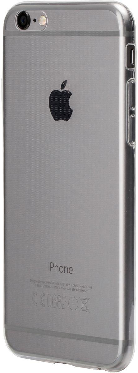 uBear Soft Tone Case чехол для iPhone 6/6s, ClearCS08TR01-I6Чистый дизайн для иконы стиля. Чехол из мягкого силикона с Anti-scratch покрытием от царапин. Благодаря Anti-slip покрытию чехол не скользит в руках. Легкий утонченный дизайн, подчеркивающий красоту смартфона. Безупречная защита Вашего устройства. Чехол обеспечивает свободный доступ ко всем функциональным кнопкам смартфона и камере.